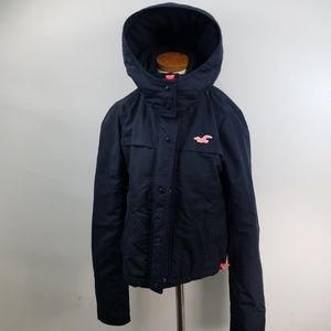 HOLLISTER WOMEN'S ALL WEATHER PARKA SIZE XS